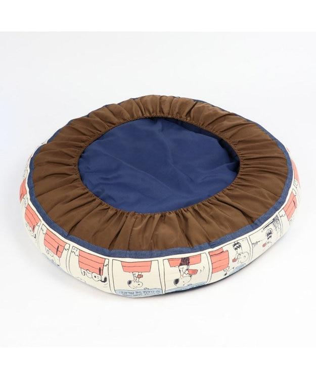 PET PARADISE 犬用品 ペットグッズ ベッド ベット ペットパラダイス ペット ベッド スヌーピー 80'S クッション(90cm) 猫 ハウス介護 おしゃれ かわいい ふわふわ 通年 夏 秋 冬 クッション ソファ カドラー あごのせ キャラクター