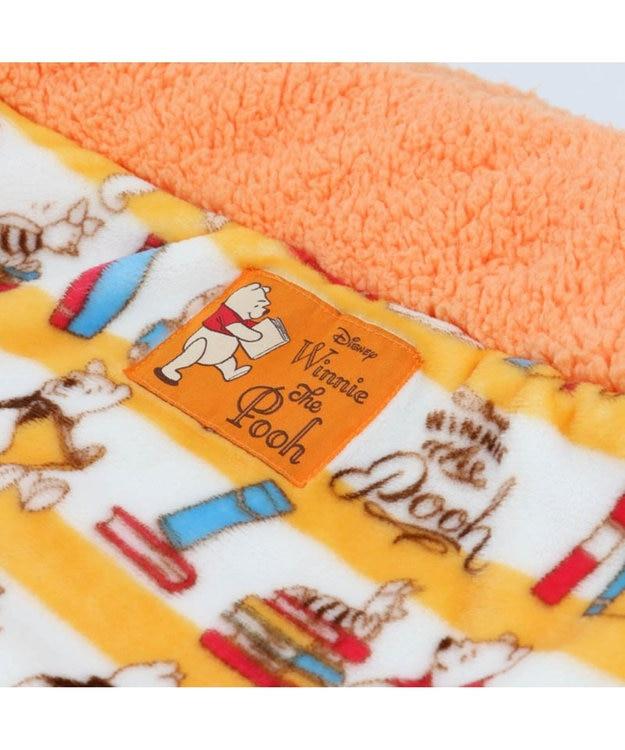 PET PARADISE くまのプーさん 遠赤外線 ブック柄 丸型 寝袋カドラー