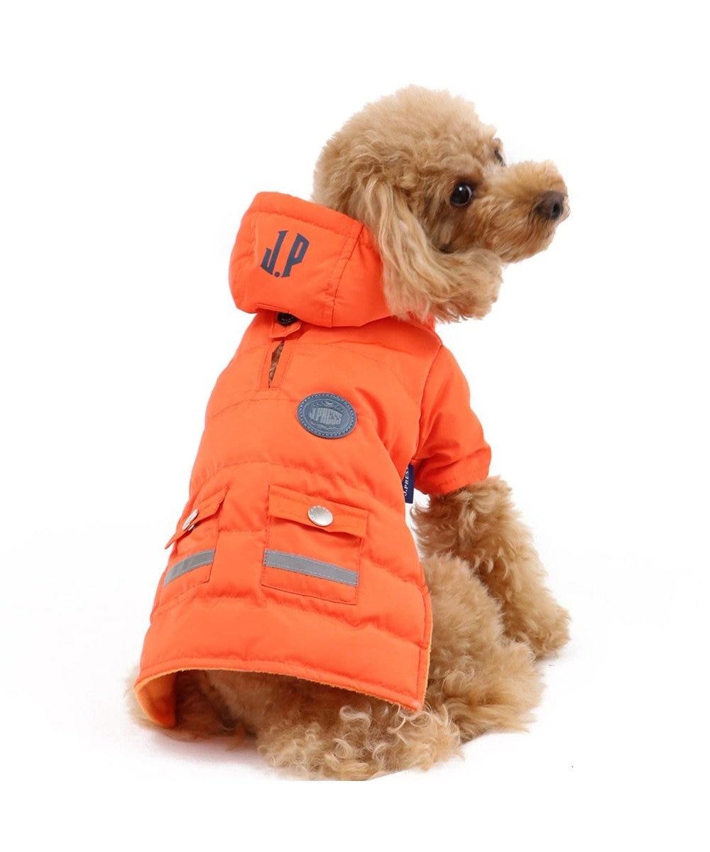 PET PARADISE J.PRESS ライト綿入コート オレンジ〔超小型・小型犬〕 オレンジ