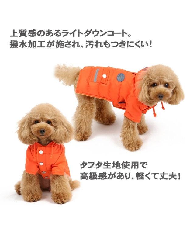 PET PARADISE J.PRESS ライト綿入コート オレンジ〔超小型・小型犬〕