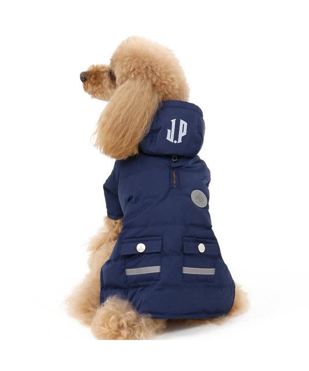 PET PARADISE J.PRESS ライト綿入コート ネイビー〔超小型・小型犬〕