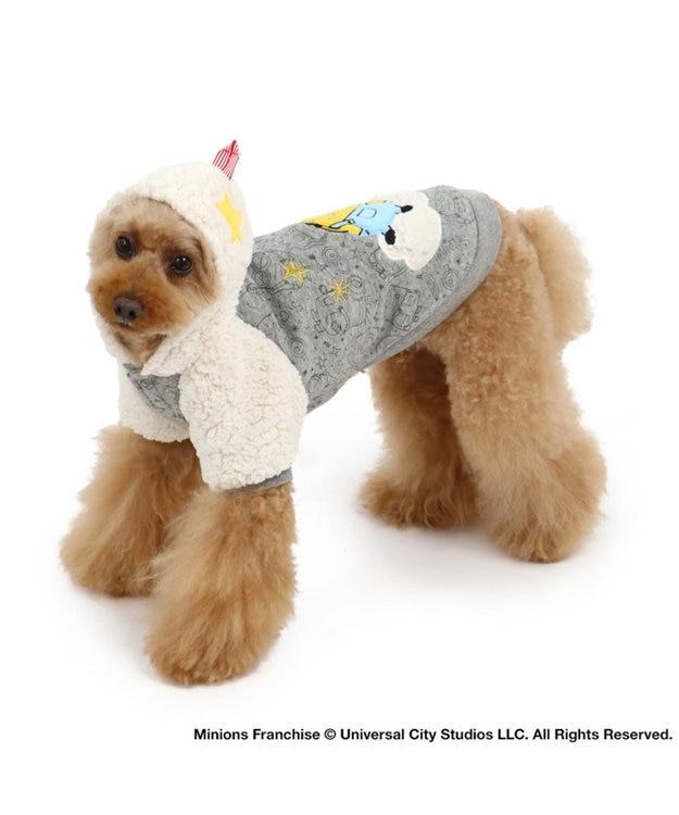 PET PARADISE ミニオン 星座 ダブルフェイスパーカー 〔超小型・小型犬〕 グレー