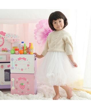 Mother garden マザーガーデン 木製 ままごと 冷蔵庫 組み立て 野いちご 《フローラル柄》 おもちゃ 木のおままごと おままごと 2歳 3歳 4歳 誕生日 プレゼント 子供 ままごとセット 木のおもちゃ 玩具 お家 遊び ピンク(淡)