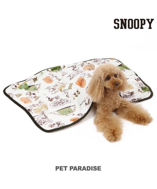 PET PARADISE スヌーピー スカウト柄 ブランケット 毛布