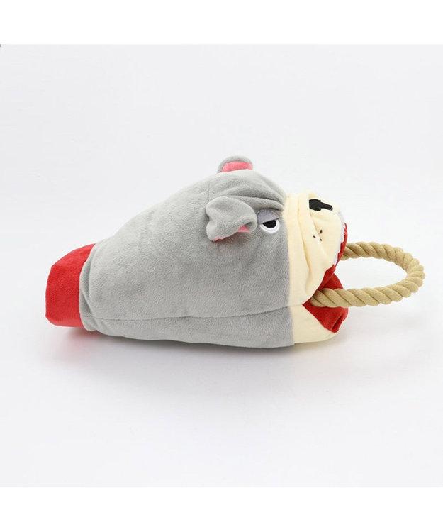PET PARADISE ペットパラダイス 番犬 パペット おもちゃ ペット トイ グレー