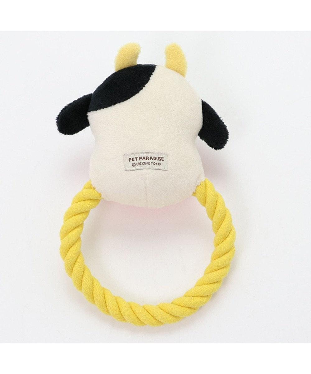 PET PARADISE ペットパラダイス 牛ロープ おもちゃ 干支 ペット トイ 0