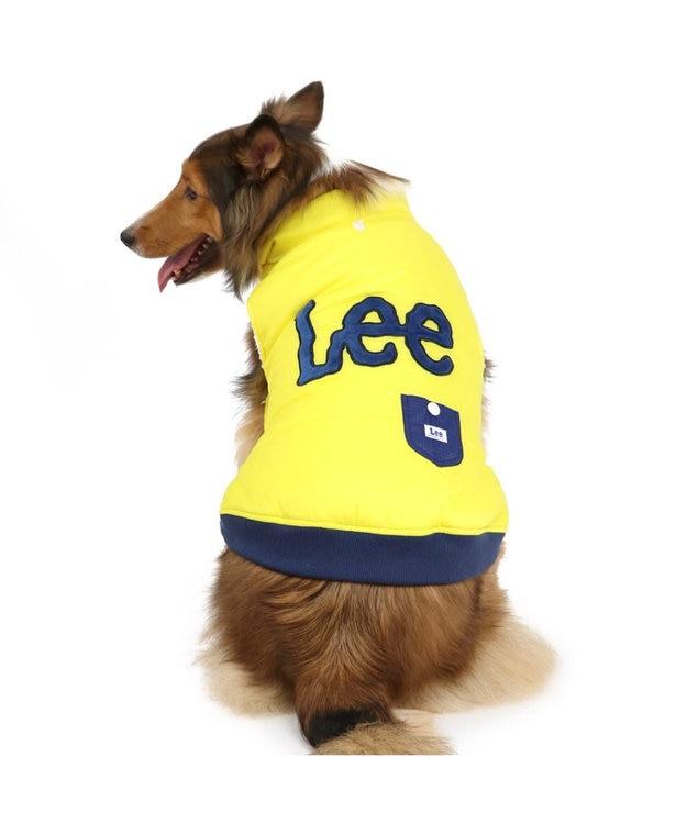 PET PARADISE Lee 綿入り ベスト 黄 〔中・大型犬〕