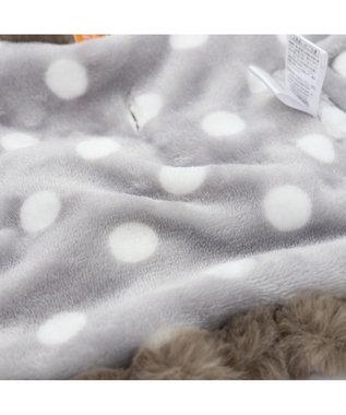 PET PARADISE リサとガスパール ニット柄 ポンチョ 〔超小型・小型犬〕 白~オフホワイト