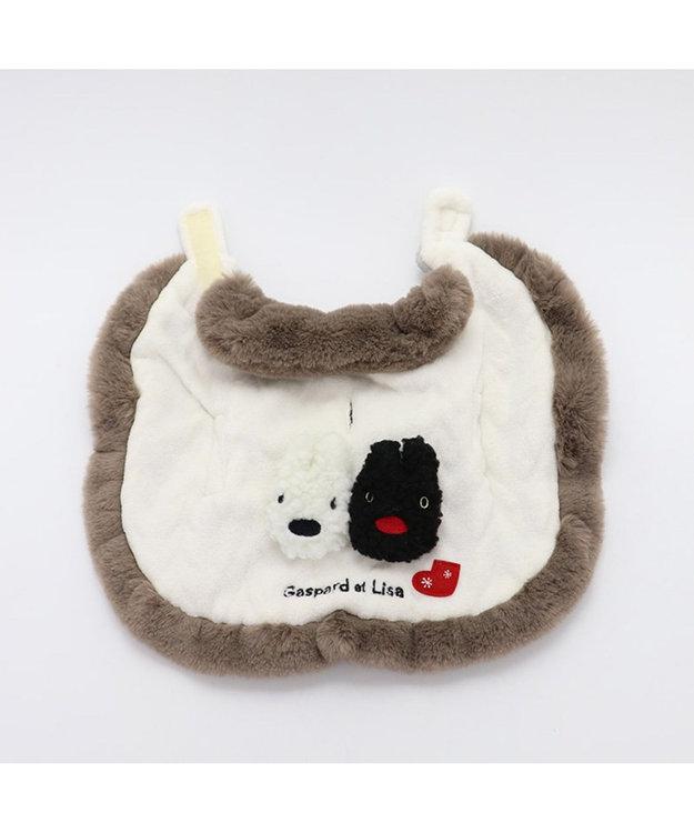 PET PARADISE リサとガスパール ニット柄 ポンチョ 〔超小型・小型犬〕