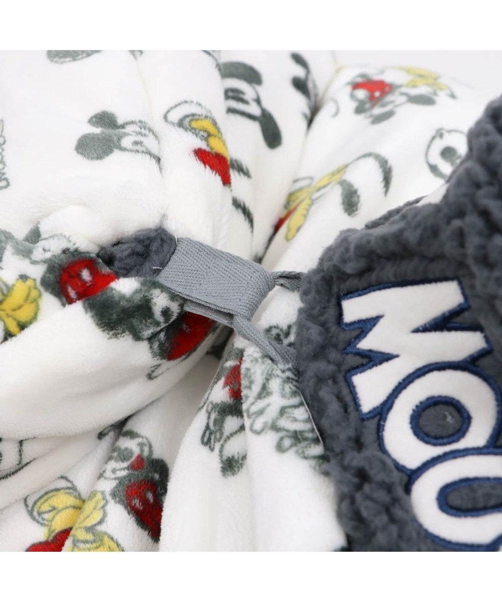PET PARADISE ミッキーマウス 遠赤外線 手書き風 筒型寝袋カドラー(42cm) 0