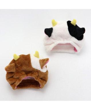 PET PARADISE ペットパラダイス 牛 帽子 白〔中・大型犬〕 0