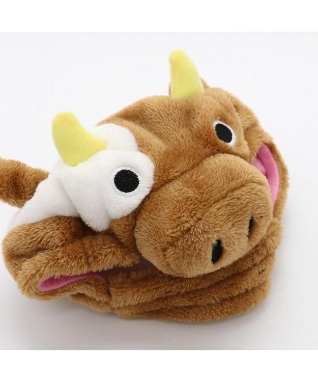 PET PARADISE ペットパラダイス 牛 帽子 茶〔超小型・小型犬〕