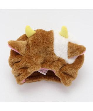 PET PARADISE ペットパラダイス 牛 帽子 茶〔中・大型犬〕 茶系