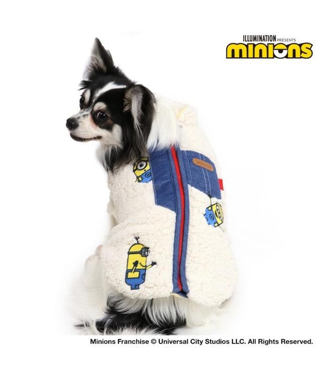 PET PARADISE ミニオン モコモコ ジップベスト 〔超小型・小型犬〕