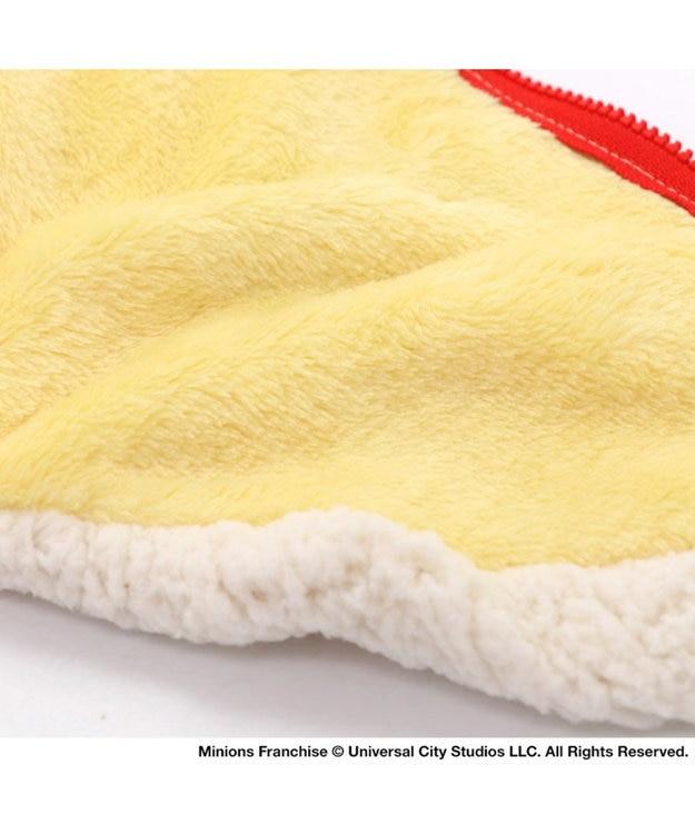 PET PARADISE ミニオン モコモコ ジップベスト 〔超小型・小型犬〕 白~オフホワイト