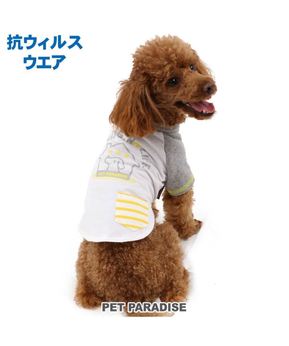 PET PARADISE ペットパラダイス 抗ウイルス Tシャツ 〔超小型・小型犬〕 白~オフホワイト