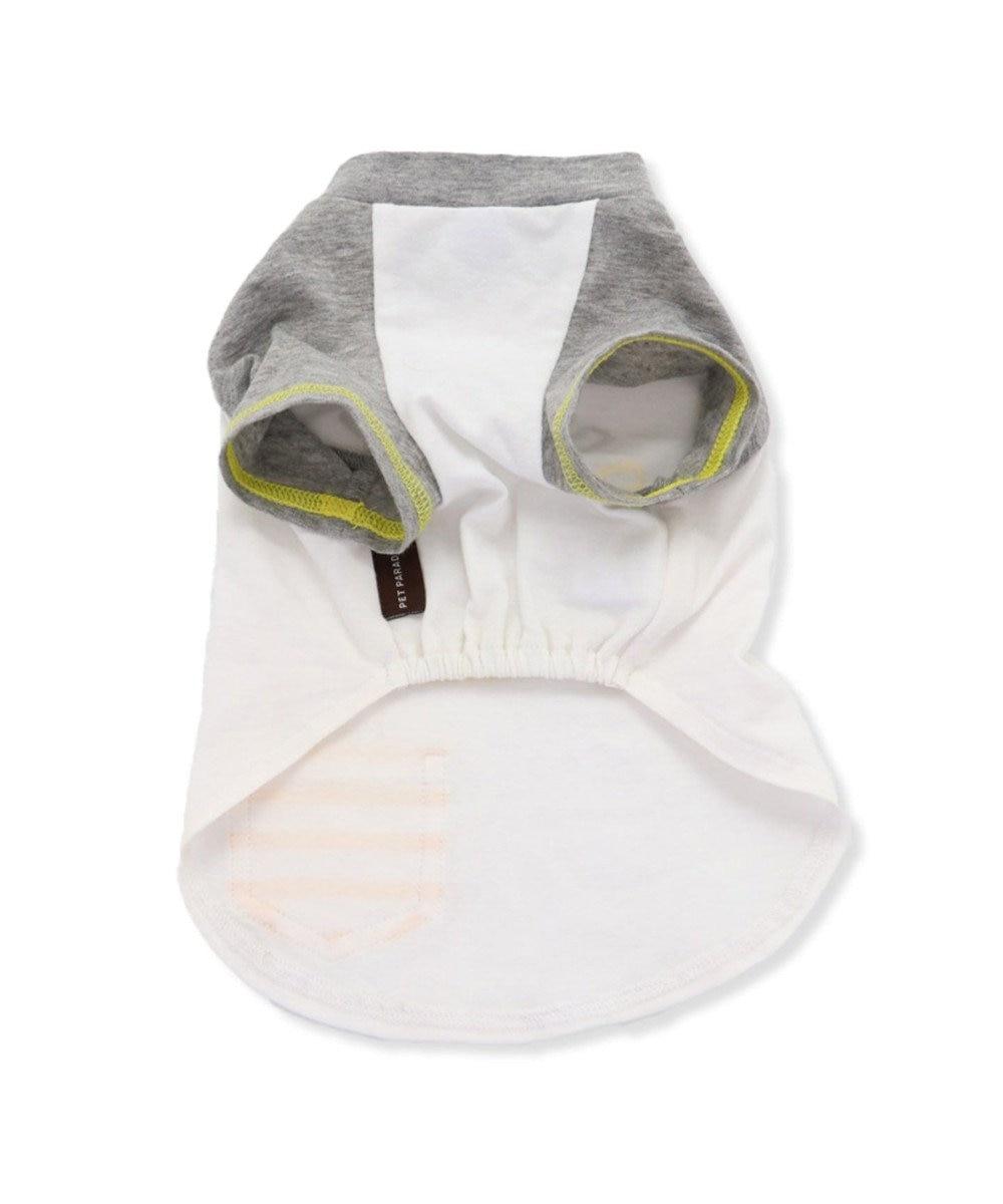 PET PARADISE ペットパラダイス 抗ウイルス Tシャツ 〔中型犬〕 白~オフホワイト