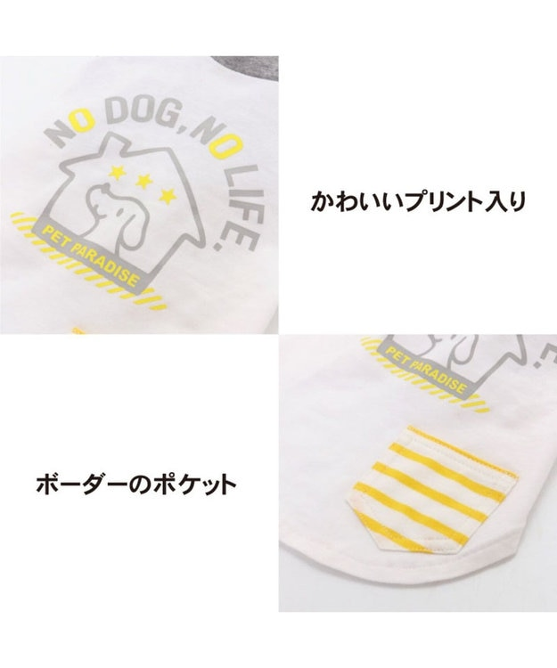 PET PARADISE ペットパラダイス 抗ウイルス Tシャツ 〔中型犬〕