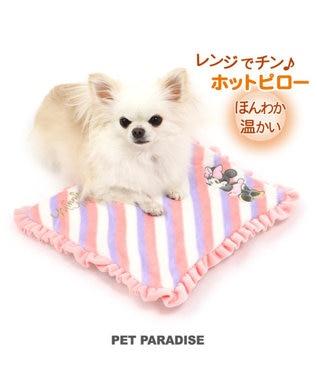 PET PARADISE ディズニー ミニーマウス 遠赤外線 ホットピロー グレー