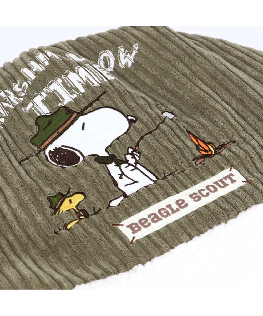 PET PARADISE 犬用品 ペットグッズ ベッド ベット ペットパラダイス ペット ベッド 遠赤外線 スヌーピー 丸型 寝袋 (60cm) ビーグル スカウト柄 暖かい あったか 保温 防寒 防寒対策 秋 冬 もこもこ ふわふわ 介護 おしゃれ かわいい キャラクター 白~オフホワイト