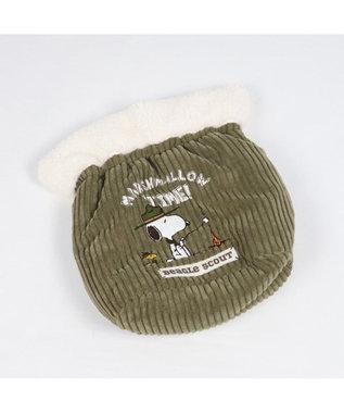 PET PARADISE スヌーピー スカウト柄 犬たんぽ (32×38cm) 白~オフホワイト