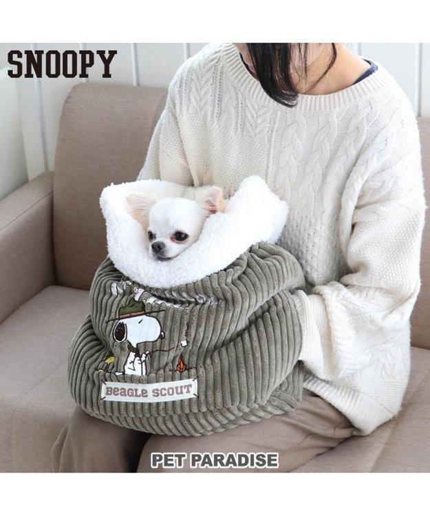 PET PARADISE スヌーピー スカウト柄 犬たんぽ (32×38cm)