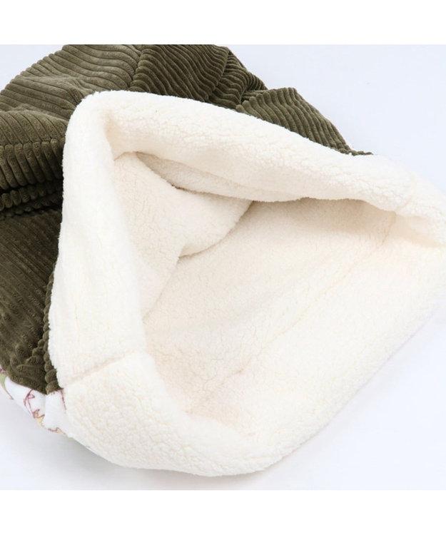 PET PARADISE スヌーピー スカウト柄 筒型 寝袋 M(42×70cm)