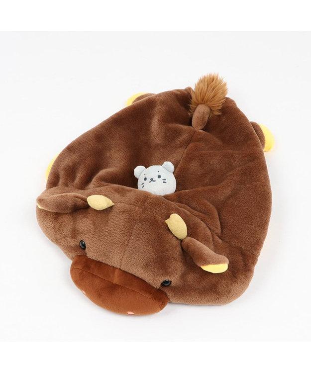 Mother garden しろたん 和牛 抱き枕カバー 55cmサイズ用 着替お洋服 単品 茶系