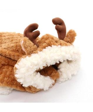 PET PARADISE ペットパラダイス トナカイ パーカー 〔超小型・小型犬〕 茶系