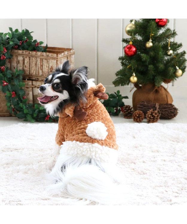 PET PARADISE ペットパラダイス トナカイ パーカー 〔超小型・小型犬〕