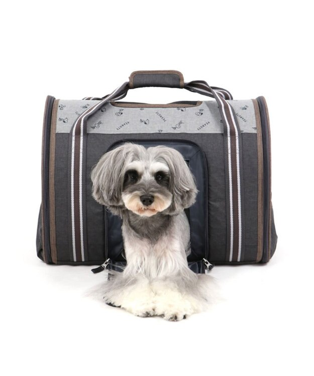 PET PARADISE スヌーピー ブラウン 折畳み キャリーバッグ 〔小型犬〕752-60182