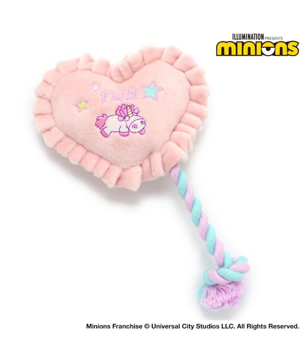 PET PARADISE ミニオン フラッフィー トイ  犬用  おもちゃ ピンク(淡)