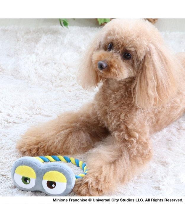 PET PARADISE ミニオン ゴーグル トイ 犬 おもちゃ グレー