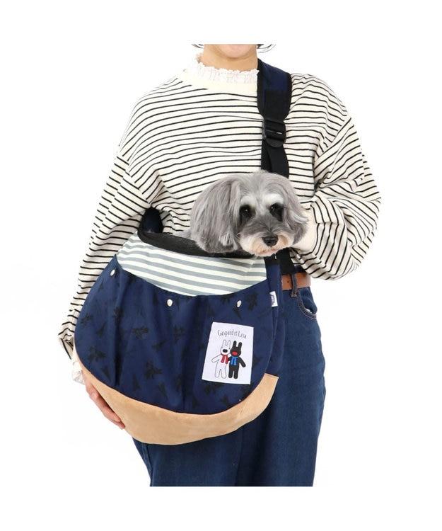 PET PARADISE リサとガスパール ソフト スリング キャリーバッグ M〔小型犬〕