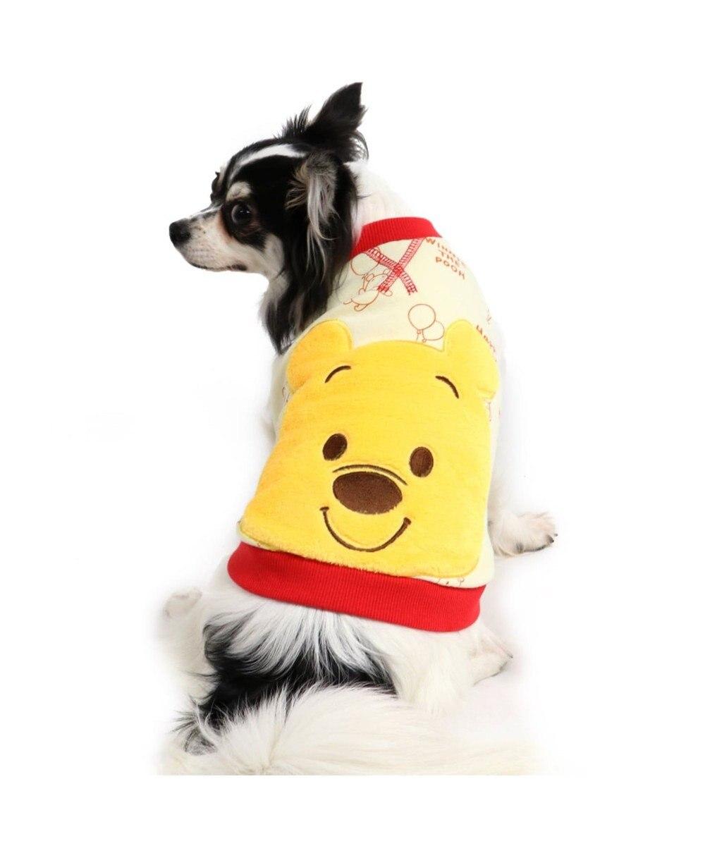 PET PARADISE ディズニー くまのプーさんダブルフェイス 顔ベスト〔超・小型犬〕 白~オフホワイト