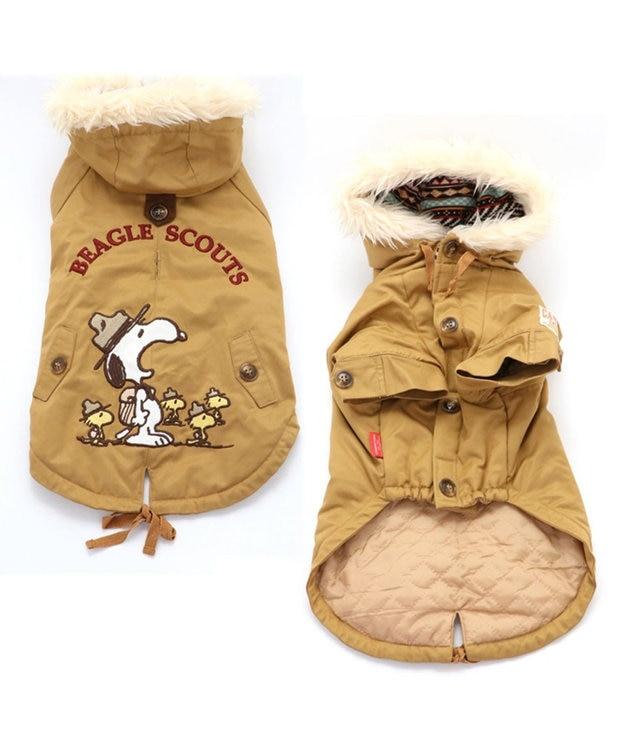 PET PARADISE スヌーピー ビーグル スカウト コート 黄色 〔中・大型犬〕