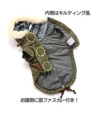 PET PARADISE スヌーピー ビーグル スカウト コート 緑 〔中・大型犬〕 緑