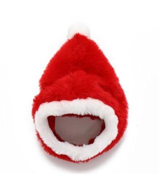 PET PARADISE ペットパラダイス サンタ 帽子〔中・大型犬〕 クリスマス 赤