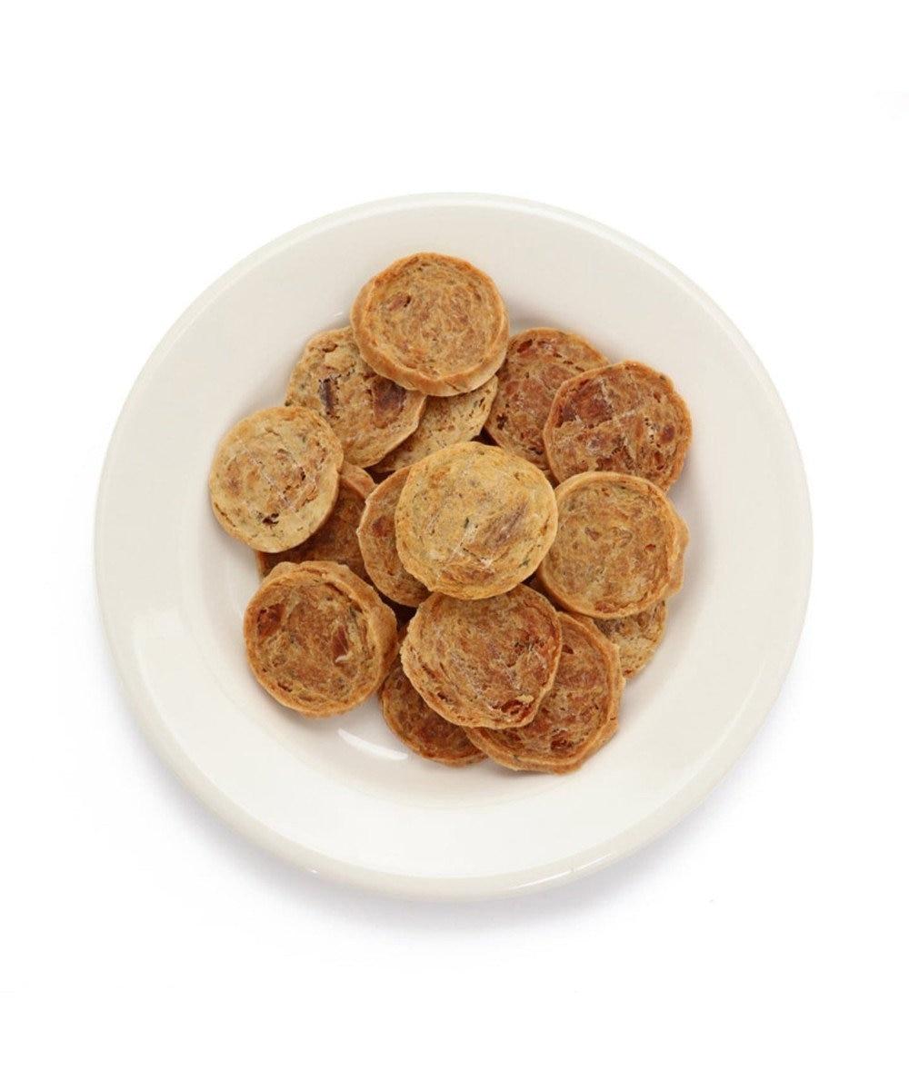 PET PARADISE ペットパラダイス 大阪限定 お好み焼き風チップ(鶏ささみ&豚肉) 原材料・原産国