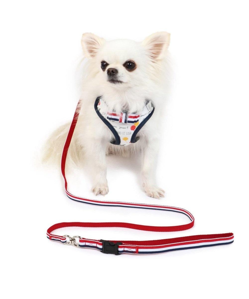 PET PARADISE リサとガスパール 風船柄 ハーネスリード S〔小型犬〕 マルチカラー