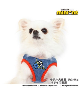 PET PARADISE ミニオン ベスト ハーネス 3S〔超小型犬〕 青