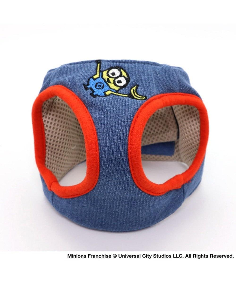 PET PARADISE ミニオン ベスト ハーネス S〔小型犬〕 青