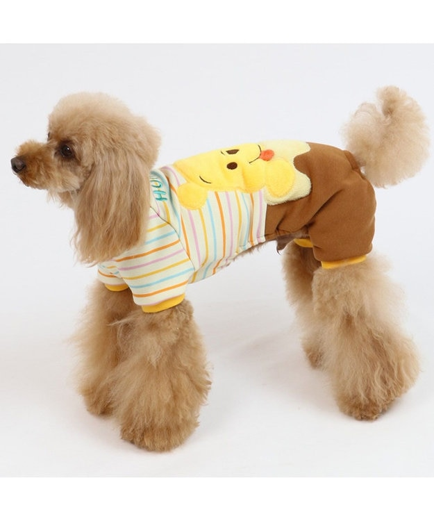 PET PARADISE ディズニー くまのプーさん 切替フェイスロンパース〔超・小型犬〕 黄
