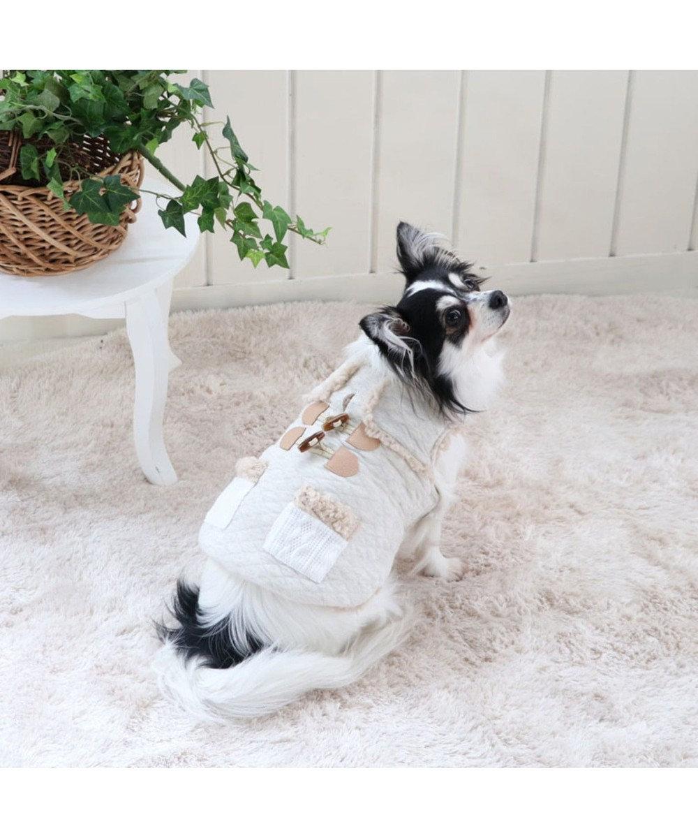 PET PARADISE ペットパラダイス ナチュラル 綿入り ベスト 〔超小型・小型犬〕 ベージュ