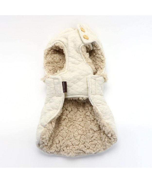 PET PARADISE ペットパラダイス ナチュラル 綿入り ベスト 〔超小型・小型犬〕