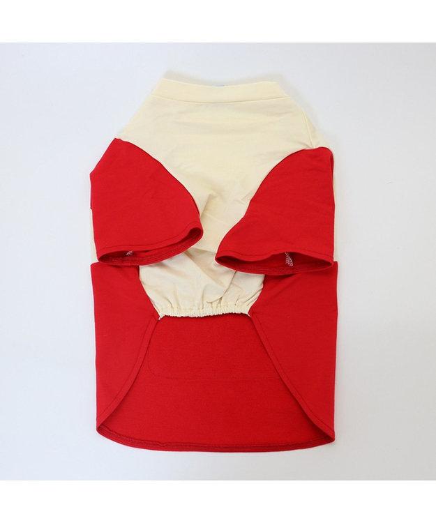 PET PARADISE Lee ポケットTシャツ 赤 〔超小型・小型犬〕 赤