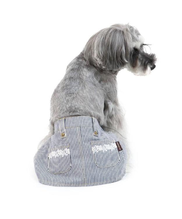 PET PARADISE ペットパラダイス ヒッコリー サニタリースカートパンツ〔小型犬〕