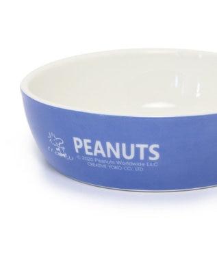 PET PARADISE スヌーピー 陶器 えさ皿 愛犬用食器 茶系