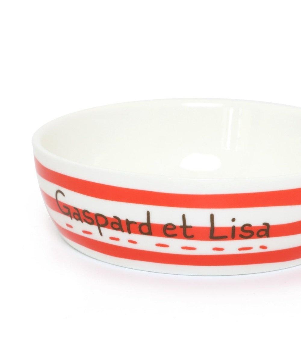 PET PARADISE リサとガスパール 陶器 えさ皿 愛犬用食器 マルチカラー