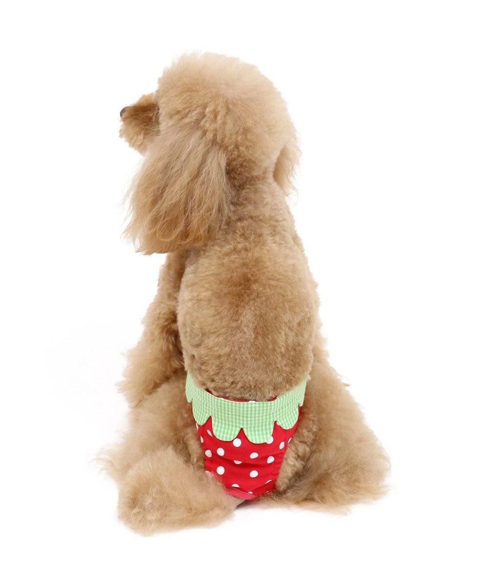 PET PARADISE ペットパラダイス 苺 サニタリーパンツ 〔超小型・小型犬〕 赤